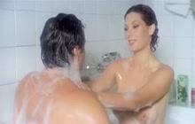 Edwige Fenech's sexy shower scene
