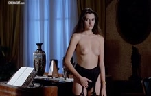 Florence Guerin and Trina Michelsen getting nude
