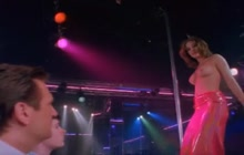 Nicole Eggert striptease