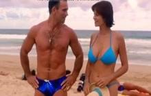Catherine Bell in bikini