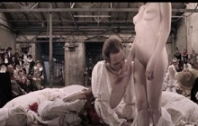 Halina Reijn naked in Goltzius and the Pelican Company